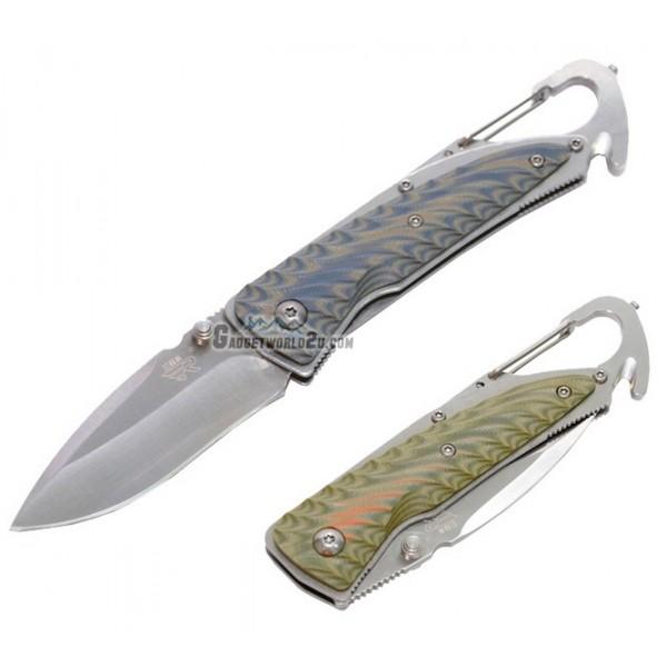 Sanrenmu 7053LUC-GPV/GKV Liner Lock Folding Knife