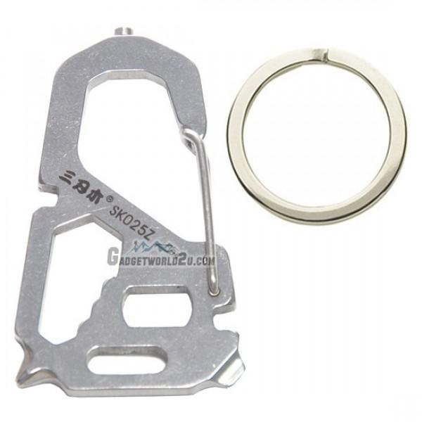 Sanrenmu Multic Key Tool Keychain Biner SK025Z