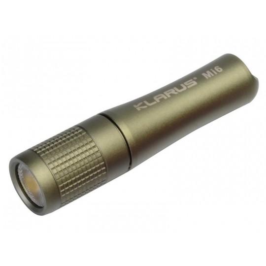 Klarus Mi6 CREE XP-G3 LED 120L Keychain Flashlight Olive