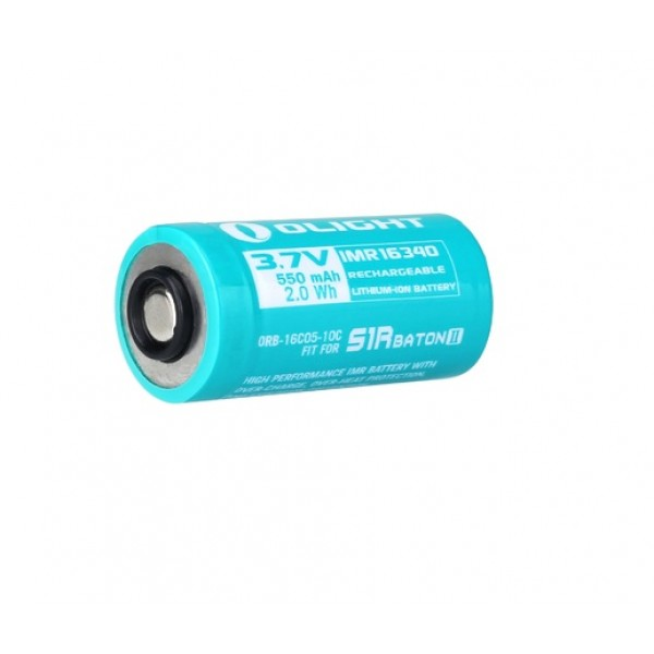 Olight Custom RCR123 / 16340 Li-ion Rechargeable Battery For Olight S1R II