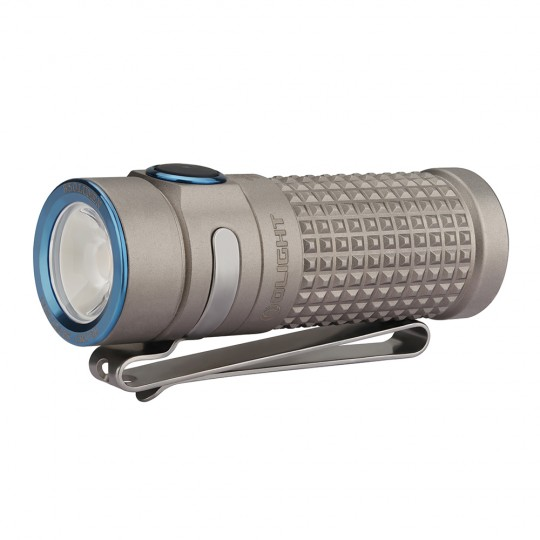LIMITED EDITION Olight S1R II TI WINTER Baton Rechargeable 850L Flashlight