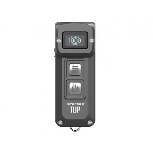 Nitecore TUP Rechargeable CREE XP-L HD V6 1000L LED Flashlight Grey