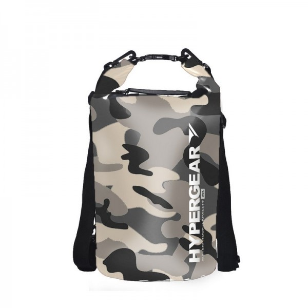 Hypergear Dry Bag Camo Water Resistant 20 Liter - Camo Grey Alpha