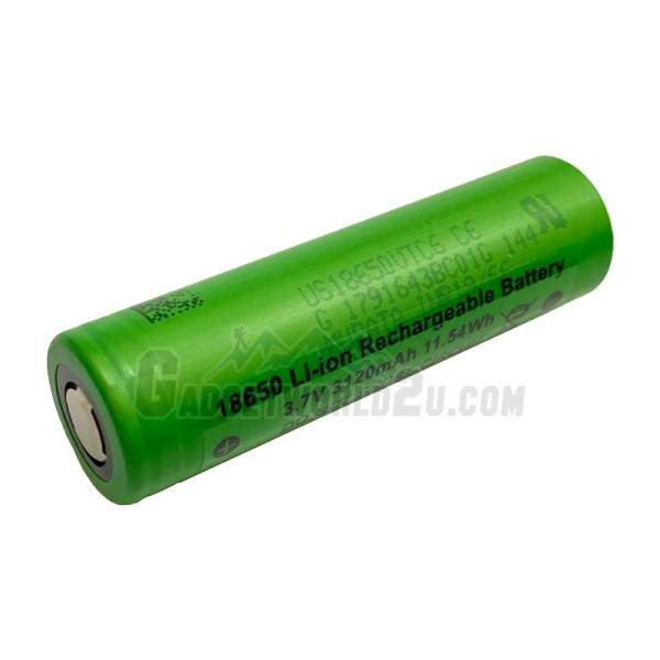 Sony VTC6 UnProtected 18650 3120mAh 3.6V Li-ion Rechargeable Battery Flat Top
