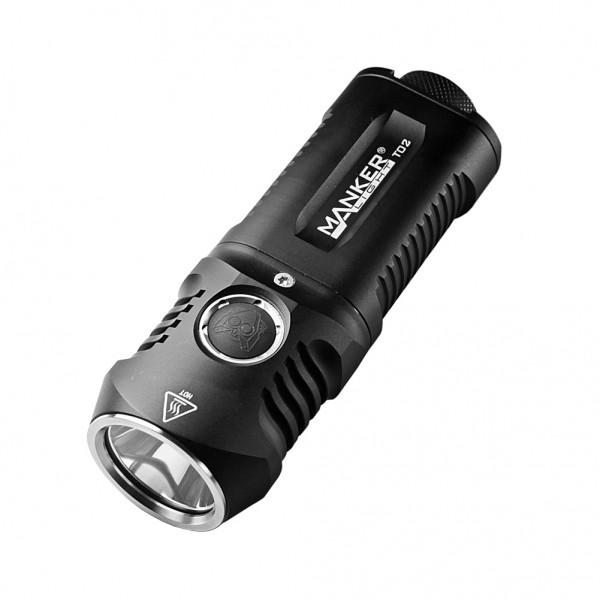Manker T02 CREE XHP35 CW LED 1500L Flashlight