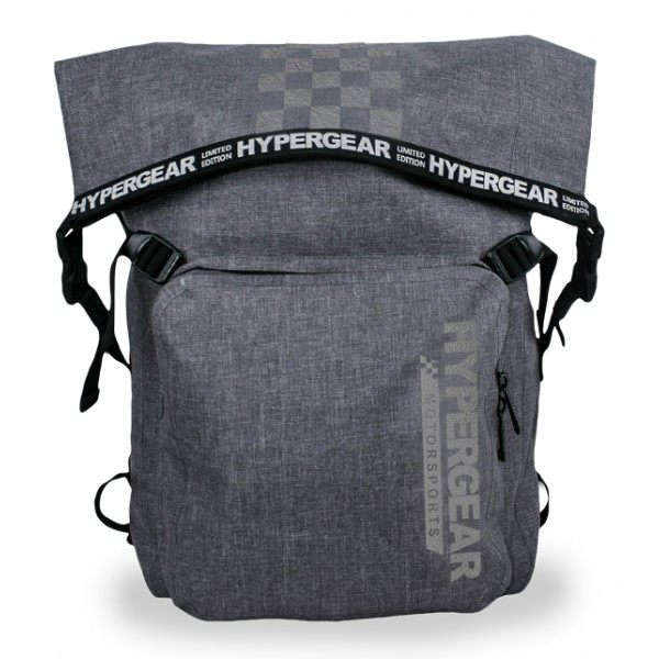Hypergear Back Pack Dry Pac LaVictory 30 Liter Snow Grey