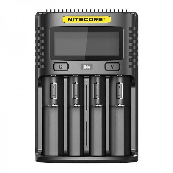 Nitecore UM4 Intelligent USB Four-Slot Li-ion NiMH Battery Charger
