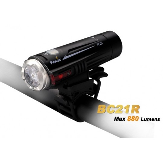 Fenix BC21R Rechargeable CREE XM-L2 T6 880 Lumens Bicycle Light