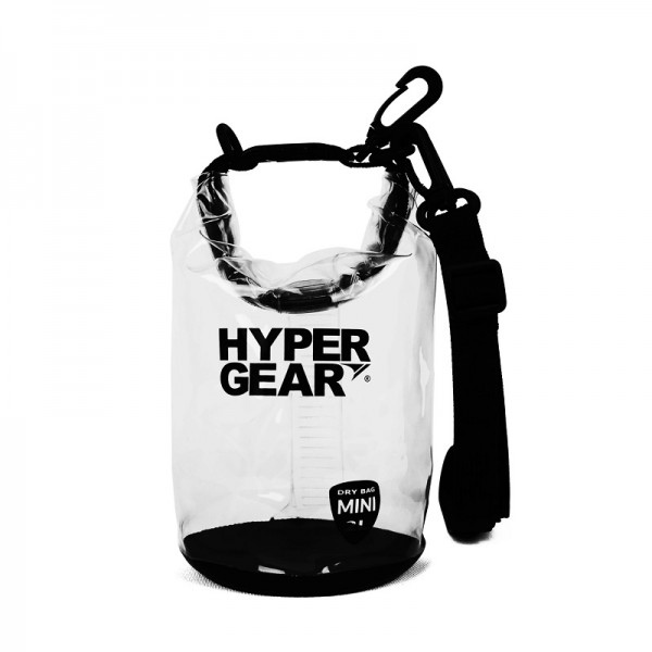 Hypergear Dry Bag Mini Water Resistant 2 Liter Clear