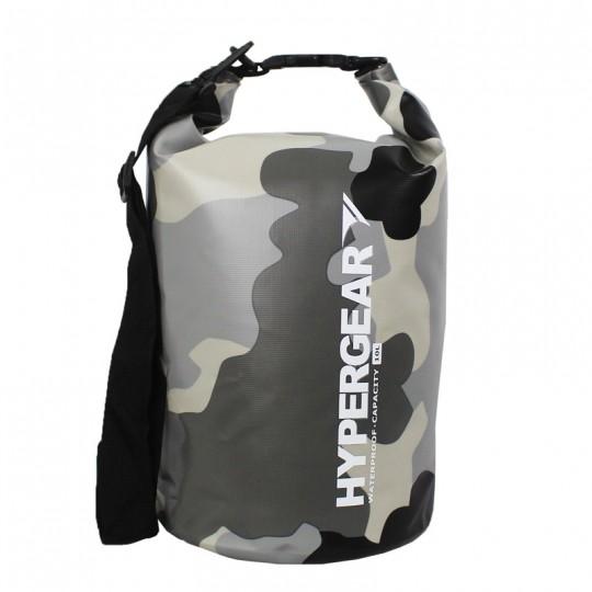 Hypergear Adventure Dry Bag 10 Liter Camo Grey Alpha