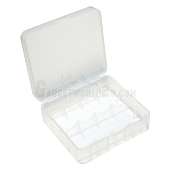 Battery Storage Case for 2x 26650 / UnProtected 4x 18650 Battery