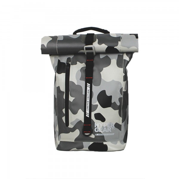 Hypergear Back Pack Dry Pac Aero 25 Liter Camo Grey Alpha