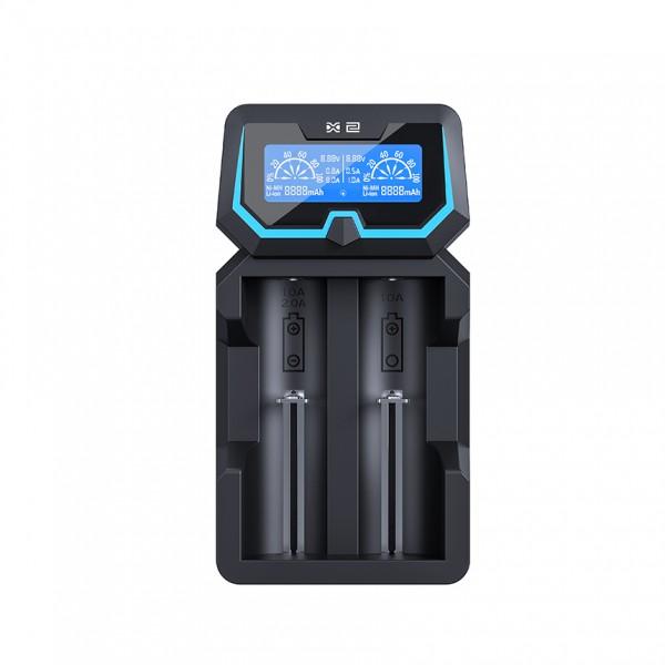Xtar X2 Dual Input NiMh / 3.6V / 3.7V Li-ion Battery Charger