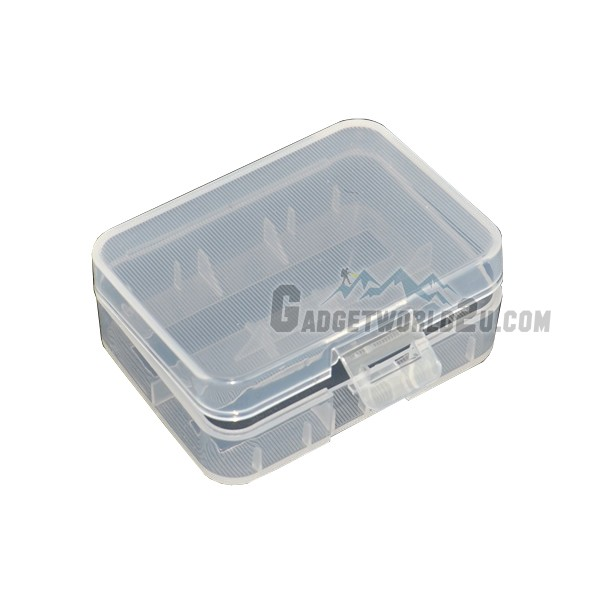 Battery Storage Case for 2x 18500 / 18490 / 18350 / 16340 Battery