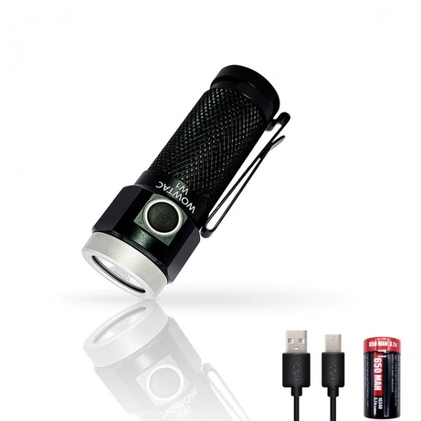 WOWTAC W1 CREE XP-G2 CW LED 562L Rechargeable Flashlight