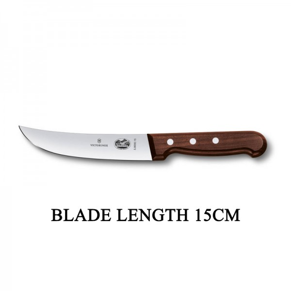 Victorinox RoseWood 15cm Rigid Wood Skinning Knife 5.8000.15