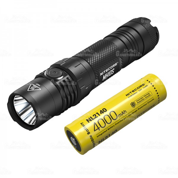 Nitecore MH10S Luminus SST-40-W LED 1800L USB Rechargeable Flashlight
