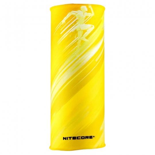 Nitecore Bandana Multifunctional Seamless Windproof Elastic Breathable Ultra Soft CANARY