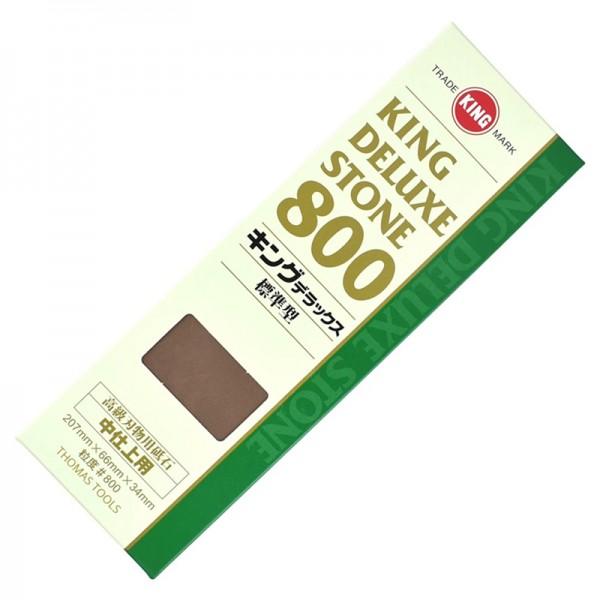 King Deluxe #800 Sharpening Stone Whetstone Japan