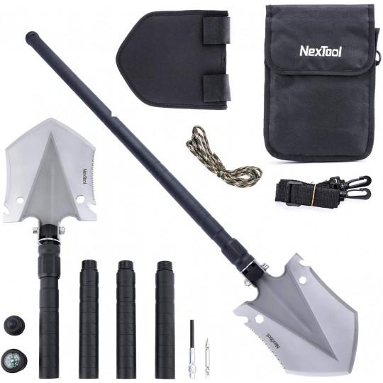 NexTool 14 In 1 Multifunctional Shovel Spade Camping Survival Tools KT5524