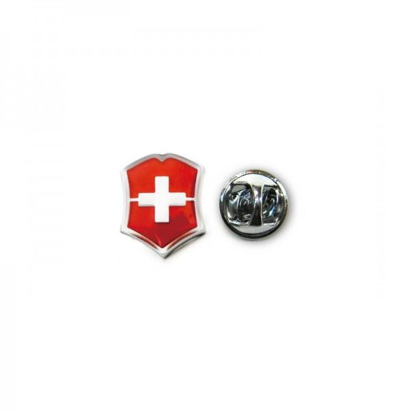 Victorinox Red Emblem Logo Metal Lapel Pin 4.1888