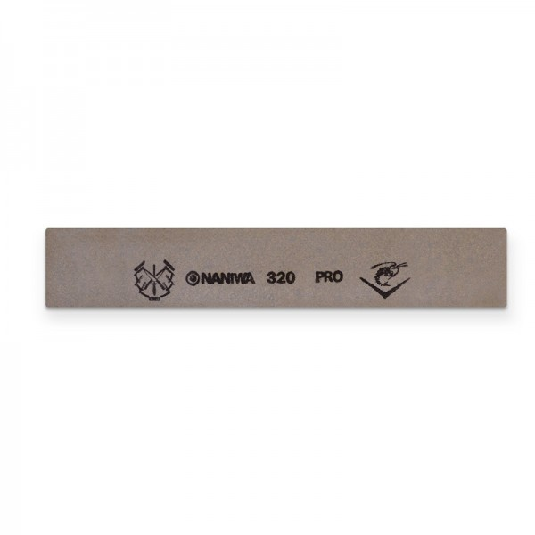 "Jende Naniwa 1"" x 6"" Japanese Water Sharpening Stone 320 Pro Grit"