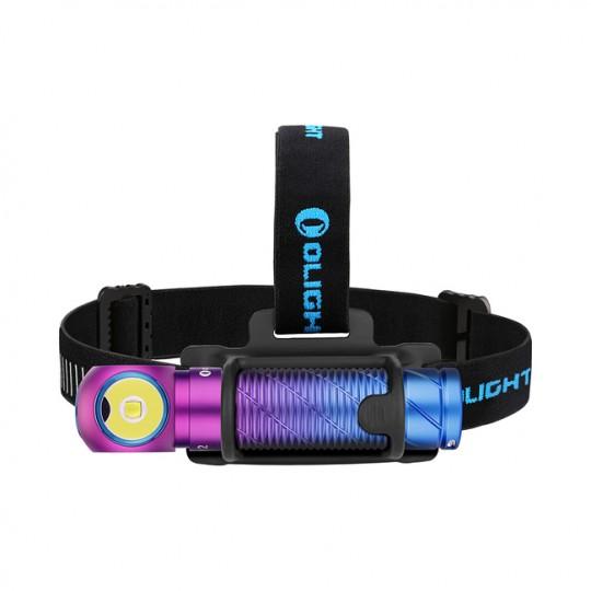 Olight Perun 2 Purple Gradient Limited Edition CW LED 2500L Rechargeable Headlamp Flashlight