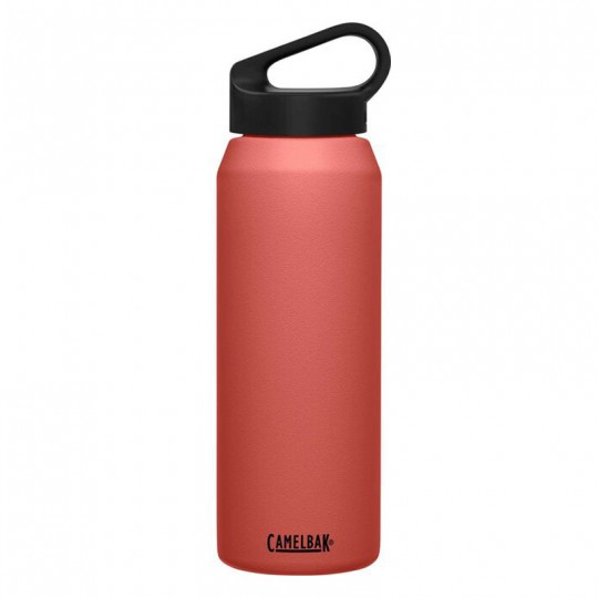 Camelbak Carry Cap 1L 1 Liter Insulated Stainless Steel Thermos Water Bottle Terracotta Rose