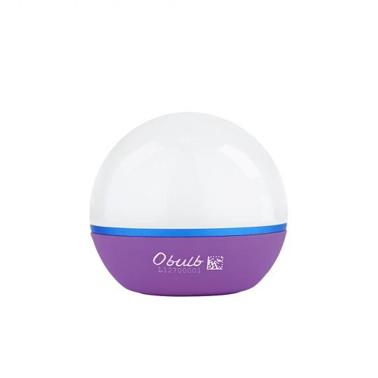 Olight Obulb Purple LED Rechargeable Mini Orb Night Light Lantern