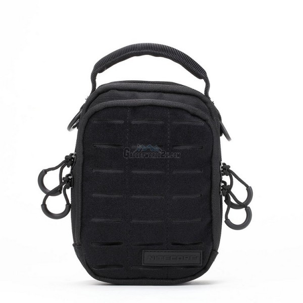 Nitecore NUP20 Cordura Molle Utility Pouch / Waist Pack / Sling Bag - Black