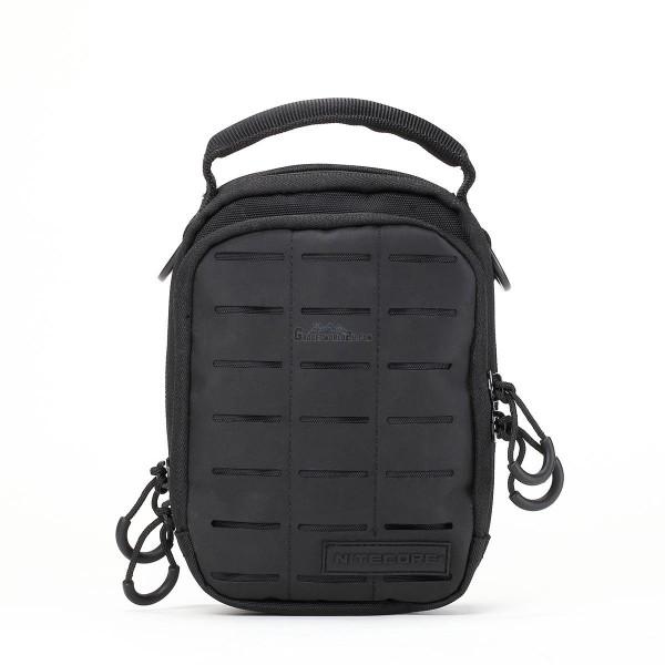Nitecore NUP10 Cordura Molle Utility Pouch / Waist Pack / Sling Bag - Black