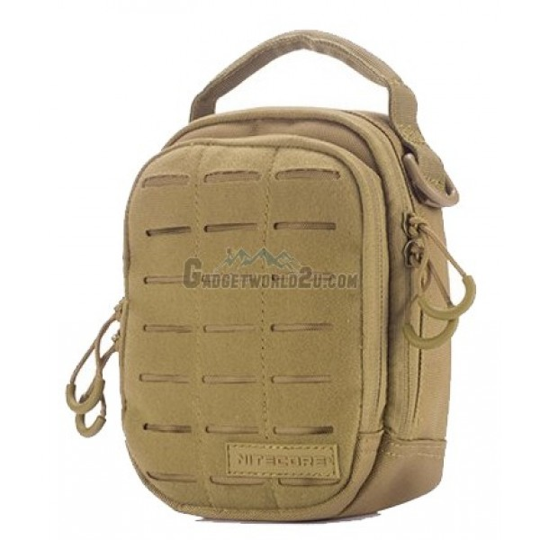 Nitecore NUP20 Cordura Molle Utility Pouch / Waist Pack / Sling Bag - Tan