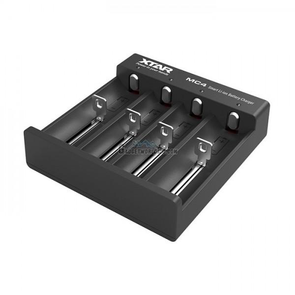 Xtar MC4 4-Bay Micro USB Li-ion Charger